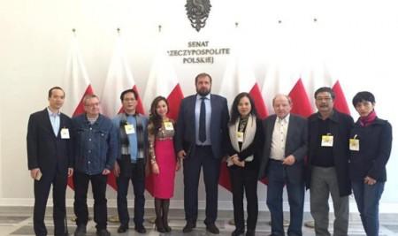 Hiệu trưởng Trường Đại học Sân khấu – Điện ảnh Hà Nội sang thăm và làm việc tại Ba Lan