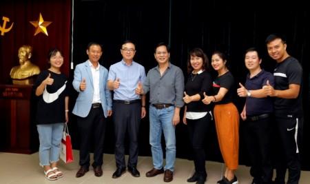 Đoàn khách Hàn Quốc thăm và trao đổi với cán bộ, giảng viên Trường Đại học Sân khấu – Điện ảnh Hà Nội