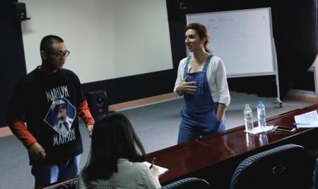 Chuyên gia trường INSAS, Bỉ giảng dạy cho sinh viên lớp Đạo diễn Điện ảnh – Truyền hình chất lượng cao