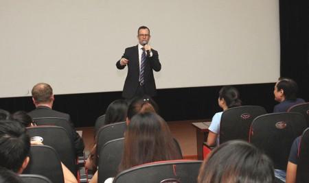 Chuyên gia New Zealand sang thăm và giao lưu với giảng viên, sinh viên Trường Đại học Sân khấu – Điện ảnh Hà Nội