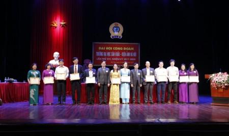 Trường Đại học Sân khấu – Điện ảnh Hà Nội tổ chức Đại hội Công đoàn lần thứ XIV (nhiệm kỳ 2017 – 2022)