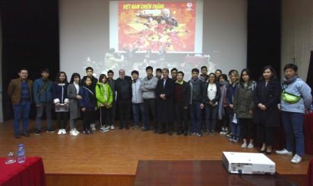 Đoàn Viện Pháp tại Hà Nội tổ chức chiếu phim, giao lưu, chia sẻ kinh nghiệm  với sinh viên Trường Đại học Sân khấu – Điện ảnh Hà Nội