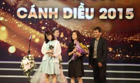 Sinh viên Trường Đại học Sân khấu – Điện ảnh Hà Nội giành 4 giải trong hạng mục Phim ngắn của Giải Cánh diều 2015